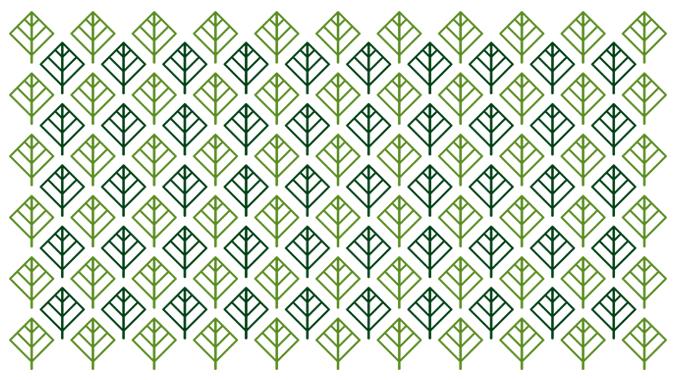 Паттерн из листьев