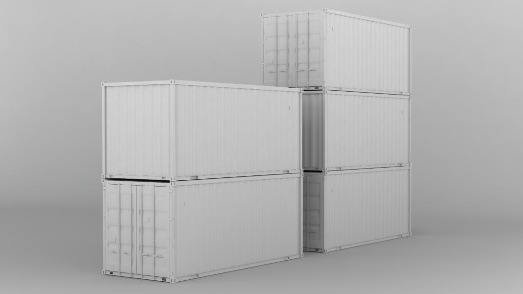 20фт контейнер. Несколько контейнеров