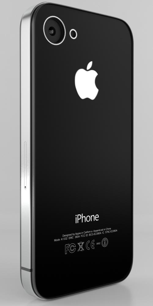 iPhone 4G. Задняя панель