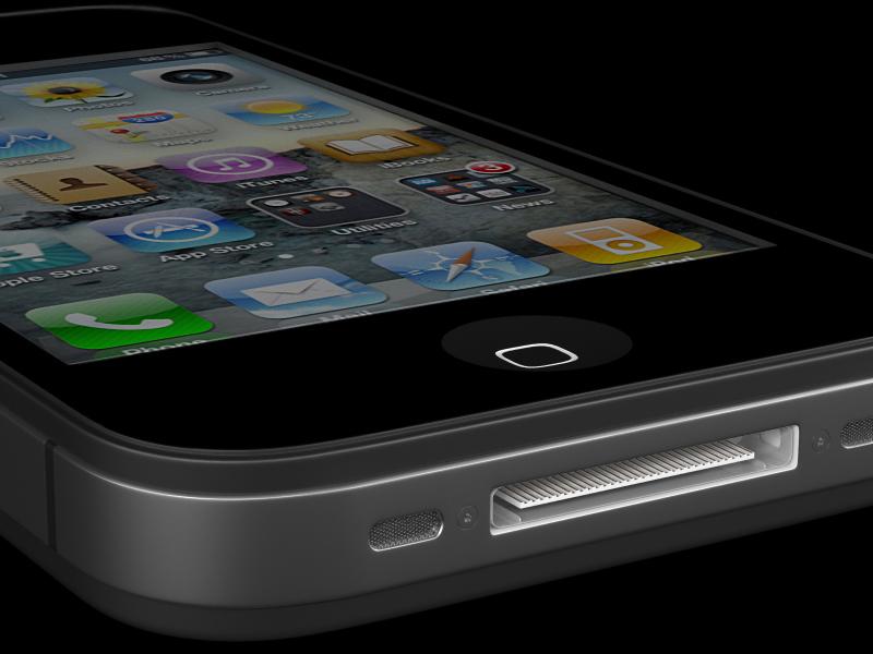 iPhone 4G. Разъем для зарядного устройства