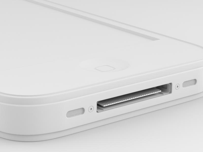 Клэй рендер iPhone 4G