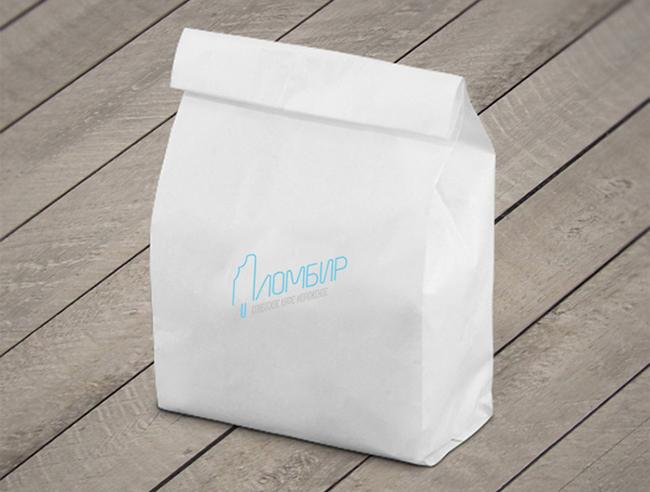 Пакет с мороженым