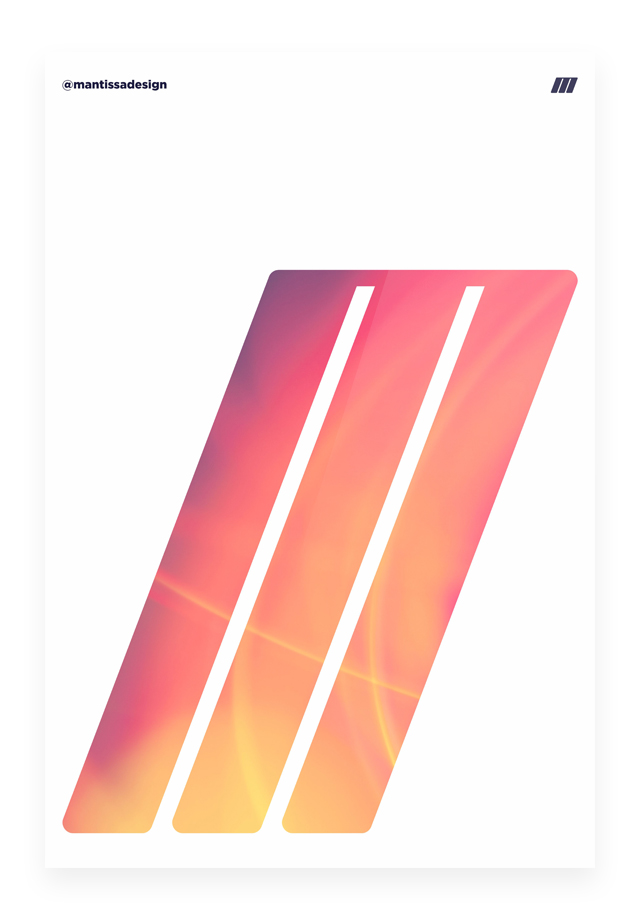 Плакат Мощная Эм