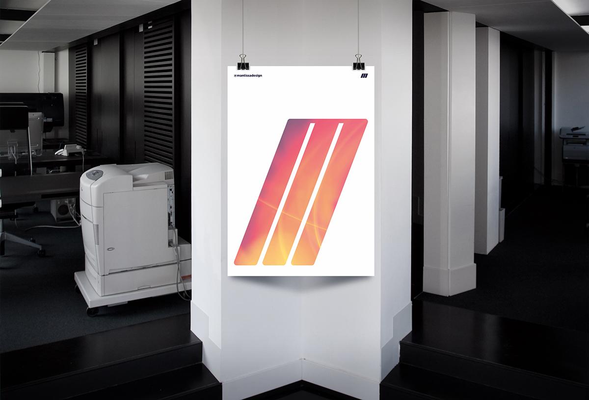 Плакат на стене в офисе